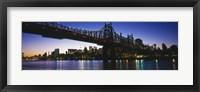 Framed USA, New York City, 59th Street Bridge