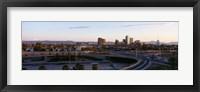 Framed USA, Arizona, Phoenix, sunset