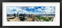 Framed Buildings in a city, Gateway Arch, St. Louis, Missouri, USA