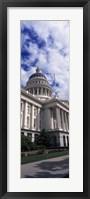 Framed State Capital Sacramento CA USA