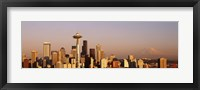 Framed Skyline, Seattle, Washington State, USA