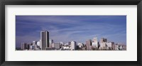 Framed Richmond, Virginia Skyline
