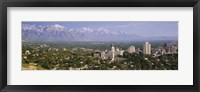 Framed High angle view of a city, Salt Lake City, Utah, USA