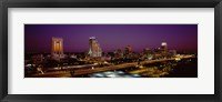 Framed Orlando, Florida at Night
