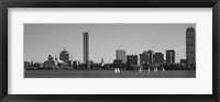 Framed MIT Sailboats, Charles River, Boston, Massachusetts, USA