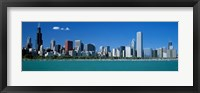 Framed Skyline Chicago IL USA