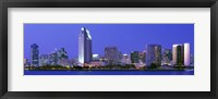 Framed Skyline, San Diego, California, USA