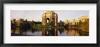 Framed Buildings at the waterfront, Palace Of Fine Arts, San Francisco, California, USA