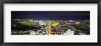 Framed Skyline, Las Vegas, Nevada, USA