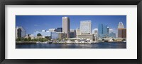 Framed Buildings at the waterfront, Baltimore, Maryland, USA