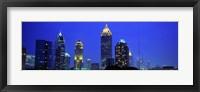 Framed Evening, Atlanta, Georgia, USA