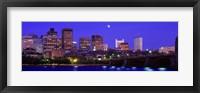 Framed Dusk Charles River Boston MA USA