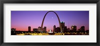 Framed Skyline, St. Louis, MO, USA