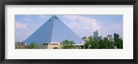 Framed USA, Tennessee, Memphis, The Pyramid
