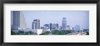 Framed Skyline & Interstate 4 Orlando FL USA