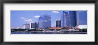 Framed Skyline Jacksonville FL USA