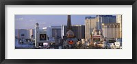 Framed Hotels on the Strip Las Vegas NV