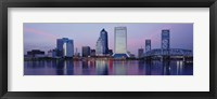 Framed Skyscrapers On The Waterfront, St. John's River, Jacksonville, Florida, USA