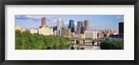 Framed Philadelphia PA in the Day