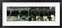 Framed Bourbon Street New Orleans LA
