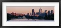 Framed Buildings on the waterfront, Philadelphia, Pennsylvania, USA