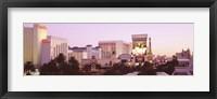 Framed Dusk Las Vegas NV