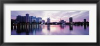 Framed Lake Eola In Orlando, Orlando, Florida, USA
