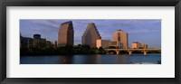Framed Bridge over a river, Congress Avenue Bridge, Austin, Texas, USA