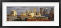 Framed Kansas City, Missouri Skyline