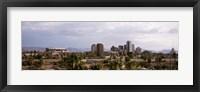 Framed USA, Arizona, Phoenix, High angle view of the city