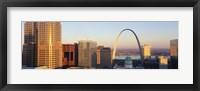 Framed St. Louis skyline