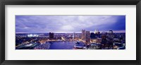 Framed USA, Maryland, Baltimore, cityscape
