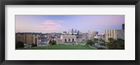 Framed High Angle View Of A City, Kansas City, Missouri, USA