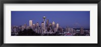 Framed Seattle Skyline