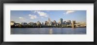 Framed Waterfront Buildings in Cincinnati