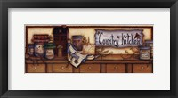 Framed Country Kitchen Shelf