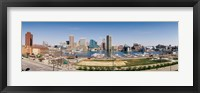 Framed Baltimore, Maryland skyline