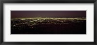 Framed High angle view of a city, South Mountain Park, Maricopa County, Phoenix, Arizona, USA