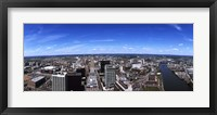 Framed Aerial view of a cityscape, Newark, Essex County, New Jersey
