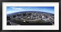 Framed Bird's Eye view of Newark, New Jersey