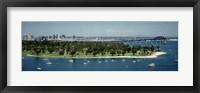 Framed Bridge across a bay, Coronado Bridge, San Diego, California, USA