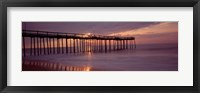 Framed Pier over an ocean, Ocean City, Maryland, USA
