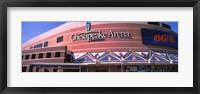 Framed Low angle view of a stadium, Chesapeake Energy Arena, Oklahoma City, Oklahoma, USA
