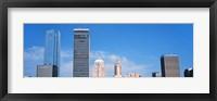 Framed Downtown skyline, Devon Tower, Oklahoma City, Oklahoma, USA