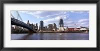 Framed Bridge across the Ohio River, Cincinnati, Hamilton County, Ohio