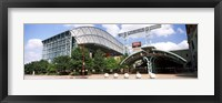 Framed Baseball field, Minute Maid Park, Houston, Texas, USA