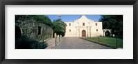Framed Facade of a building, The Alamo, San Antonio, Texas