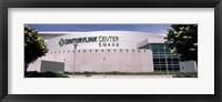 Framed Facade of a convention center, Century Link Center, Omaha, Nebraska, USA