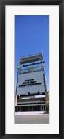 Framed Sign board at a convention center, Century Link Center, Omaha, Nebraska, USA