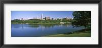 Framed Buildings at the waterfront, Omaha, Nebraska (horizontal)